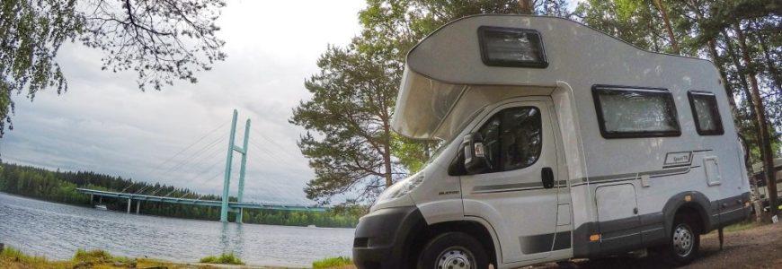 Husbilar erbjuder härlig frihet på semestern